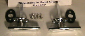 1928 1931 Model A Ford Roadster And Roadster Pickup Deluxe Door Handle Set