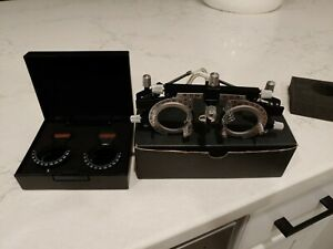 Premium Optometry Ophthalmology Glasses Trial Frame And Trial Lens Clips Pioneer