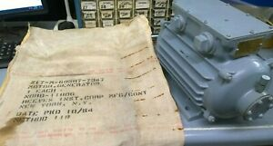 Brand New 1954 General Electric Military Generator Motor 3450rpm Nord 11806