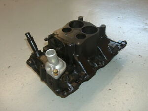 Chevy 4 3l High Rise Cast Iron Intake Manifold 14075659 14 Marine Or Racing
