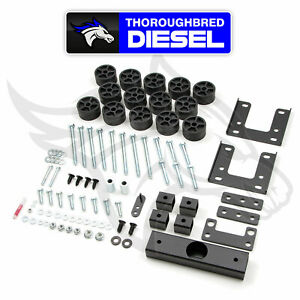 Zone Offroad 1 5 Body Lift Kit For 2009 2017 Dodge Ram 1500 D9150