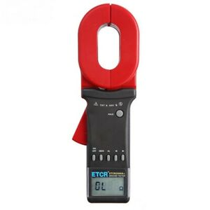 Etcr2000a Digital Clamp On Ground Earth Resistance Tester Meter 1 199 M