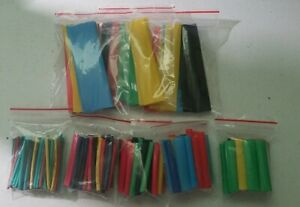 Heat Shrink Tube Kit Insulation Sleeving Polyolefin 164pcs Tubing Wire Cable