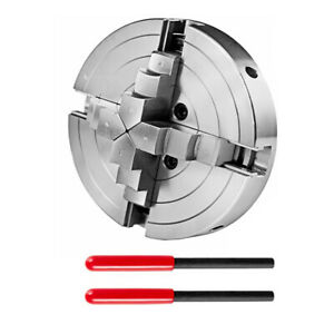 Manual 4 Jaw Chuck Self centering 150mm 6 Inch 2 Leverage For Cnc Lathe
