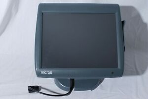 Micros Ws5a 400814 101 Touch Screen Pos Terminal Register With Stand