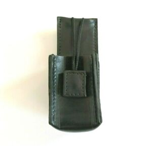 Genuine Serbian Police Leather Belt Radio Holster For Motorola Official Security