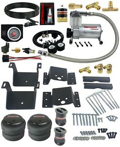 Air Tow Kit W black In Cab Control For 6 Lifted 2011 2017 Silverado 2500 3500