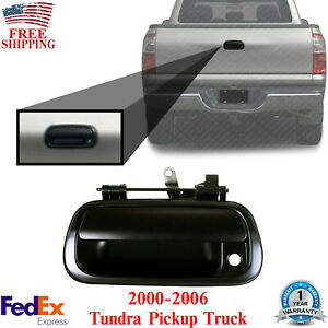 Tailgate Handle Primed With Key Hole For 2000 2006 Toyota Tundra