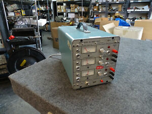 Power Designs Tp325 Triple Output Dc Power Supply 30 Day Guarantee