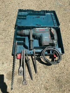 Bosch Rotary Hammer Drill Rh850vc With 5 Bits