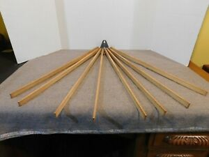 Vintage Wall Mount Clothes Drying Rack