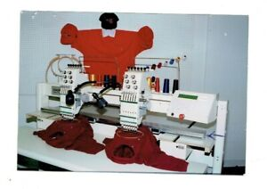 Industrial Embroidery Machine Singer Model Gt 226 S 2 Head Used