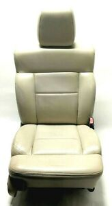 2004 2008 Ford F150 Front Right Passenger Seat Leather Tan Interior Code Hw