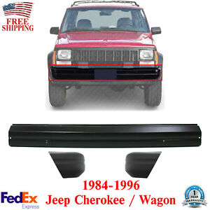 Front Bumper End Cap Textured Left And Right Side For 1984 1996 Jeep Cherokee