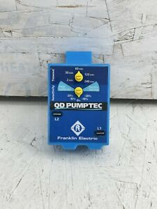 Franklin Pumptec Qd Water Well Pump Protection 1 3hp 1 Hp 230v Low Yield Wells