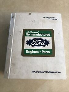 1975 96 Ford Dealership Remanufactured Car And Truck Parts Book Dated 7 1 98