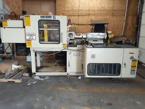 Van Dorn 55 Ton Injection Molding Machine W Fts Systems Rc 100 Chiller