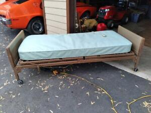 Used Invacare Twin Electric Hospital Bed