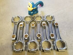 343 360 Amc Brand New Connecting Rods 5 875 I Beam Balanced Bushed Small End