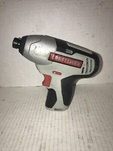 Craftsman Nextec 12v 14 Cordless Compact Impact Driver Tool Only Works Great