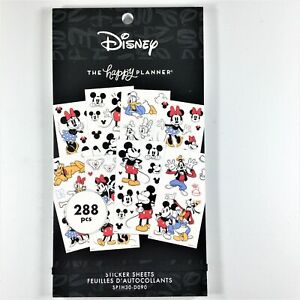 The Happy Planner Disney Large Mickey Mouse And Minnie Mouse Sticker Book Mambi