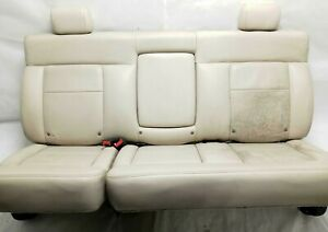 2004 Ford F150 Crew Cab Rear Seat Top Bottom Complete Leather Tan Code Hw