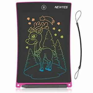 Drawing Board 8 5 inch Lcd Writing Tablet Colorful Screen Doodle Pad Pink