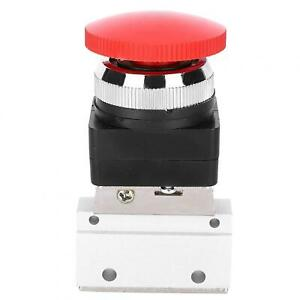 Mov 03 8 Pneumatic Mechanical Valve Push Button Switch 2 Position 3 Way Manual