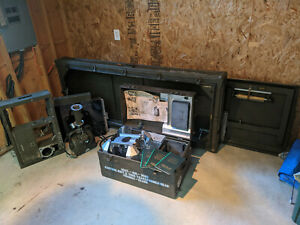 Picker Portable Military X ray 1957 Vietnam Trunk X ray Head And Tables
