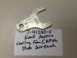 J 41240 5 Kent Moore Cooling Fan Clutch Hub Wrench Gm Special Tool