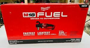 Milwaukee 2807 20 M18 Hole Hawg 1 2 Right Angle Drill tool Only New