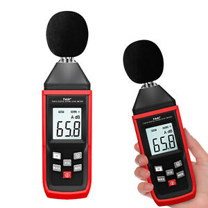 Sound Level Meter Lcd High Accuracy 1 5db Measure Gauge Monitoring Tester