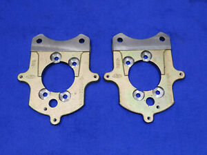 94 04 Ford Mustang 8 8 New Cobra Rear Backing Plate Pair Of Plates Flanges W65