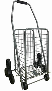 Mount Plus A20 Grocery Utility Shopping Cart Stair Climber Easily And To And