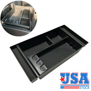 Us Center Console Box Armrest Insert Fit For 19 21 Chevy Silverado Sierra 1500