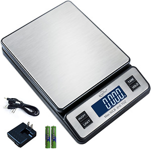 Durable Stainless Steel And Digital Postal Scale Shipping Scale With Ac Adapter