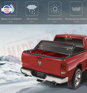 5 Ft Soft Tri Fold Tonneau Cover For 2019 2020 Ford Ranger Short Truck Bed