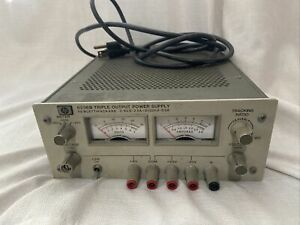 Hp agilent 6236b Triple Output tracking Dc Power Supply Good Condition