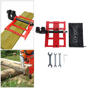 Vertical Cutting Chainsaw Mill Steel Lumber Cutting Guide Saw For Builders