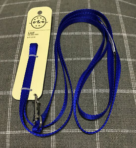 Bond amp; Co. 6ft Blue Lead For Small Dogs 6FT 1.8 M New $11.00