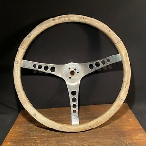 Vintage Wood Amp Chrome Steering Wheel The 500 Superior Performance Products