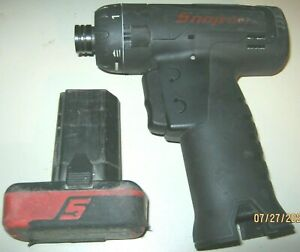 Snap On Cts761abk 1 4 14 4v Screwdriver With 2 0ah Battery No Charger