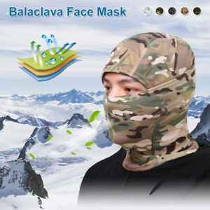 Balaclava Face Cover UV Protection Windproof Hood Tactical Cover for Ski Cycling $6.69