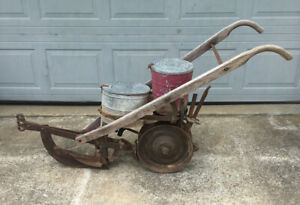 Nice Used Horse Drawn Cole Seed Planter In Good Working Condition Solid