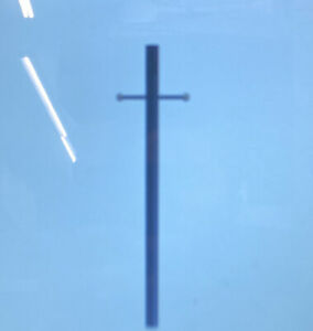 7 Ft Bronze Outdoor Direct Burial Lamp Post With Cross Arm And Grounded Conveni