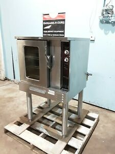 southbend Gh 10 Sc Hd Commercial nsf N gas Convection Oven With Stand