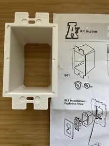 Arlington Be1 Electric Outlet Or Switch Box Extender