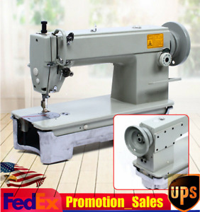 Industrial Thick Material Lockstitc Sewing Machine Heavy Duty 3000s p m Usa