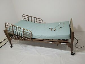 Invacare 5410ivc Full Electric Hospital Bed With Side Rails And Remote