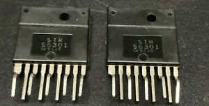 Strs6301 Lot Of 2 Integrated Circuit Str s6301 Nte7073
